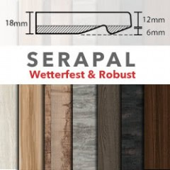 SERAPAL Tischplatte in Slim-Optik