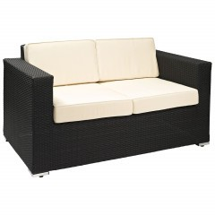 Terrassen Lounge Sofa - Salomon-Black