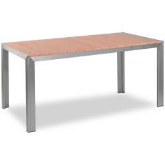 Terrassentisch - Jabel mit Tischplatte 160x80 in Teakholz