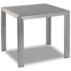 Terrassentisch - Jabel mit Tischplatte 80x80 in grau