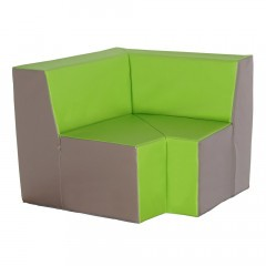 Vollschaum Sofa für Hort - Ecksofa