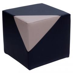 Sitzhocker 2-farbig Version 1