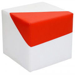 Sitzhocker 2-farbig Version 2