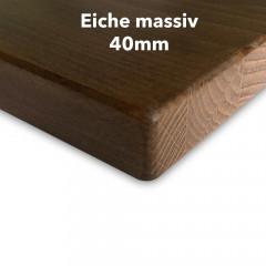 Tischplatte Eiche massiv 40 mm