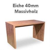 """Brückentisch """"Quado"""" Eiche-masssiv"""