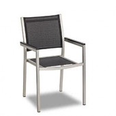 Terrassenstühle - Jabel Textil - schwarz