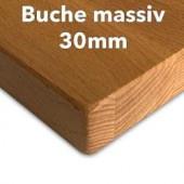 Tischplatte Buche massiv 30 mm