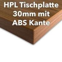 HPL Tischplatte 30mm mit ABS-Kante