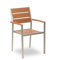 Terrassenstühle - Jabel AL in Teakoptik