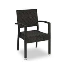Terrassenmöbel Stuhl - Viola-AL schwarz