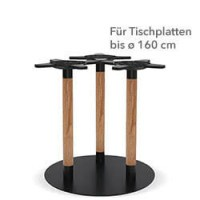 """Tischgestell """"Basic ST-1917/2"""" Buche/Eiche"""